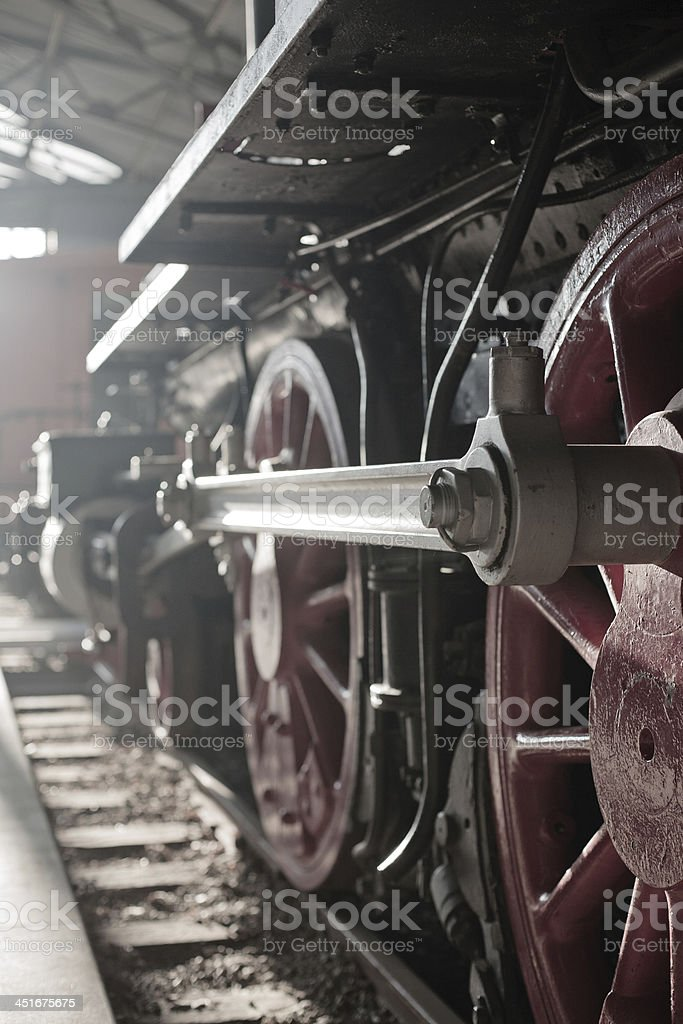 Locomotive (Train) stock photo