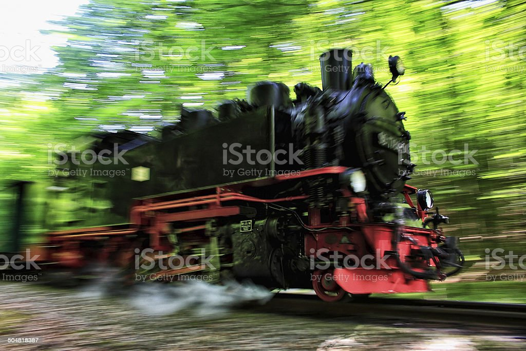 Locomotive stock photo