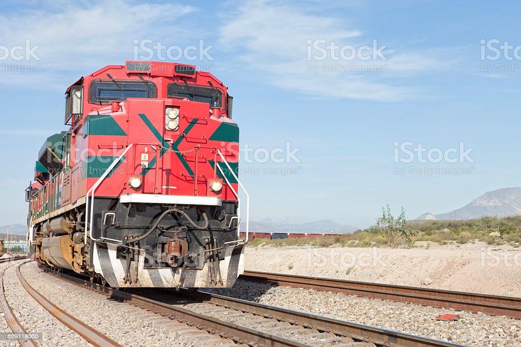 Locomotive stock photo
