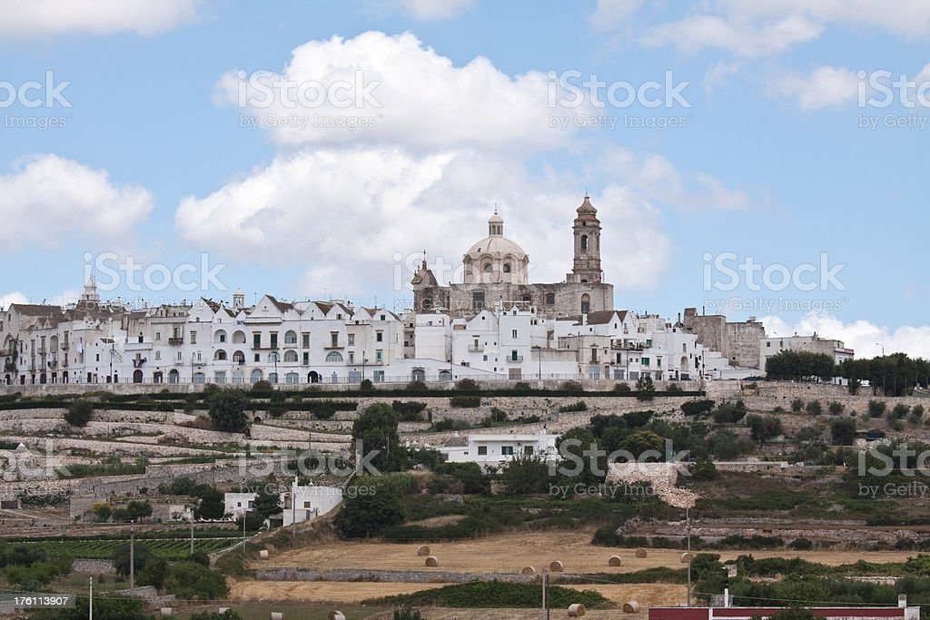 Locorotondo, Puglia, Italy stock photo
