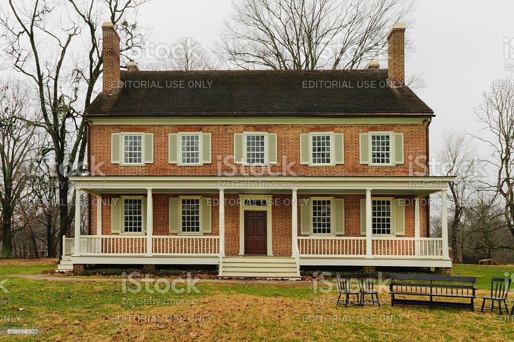 Locust Grove Mansion Louisville KY stock photo