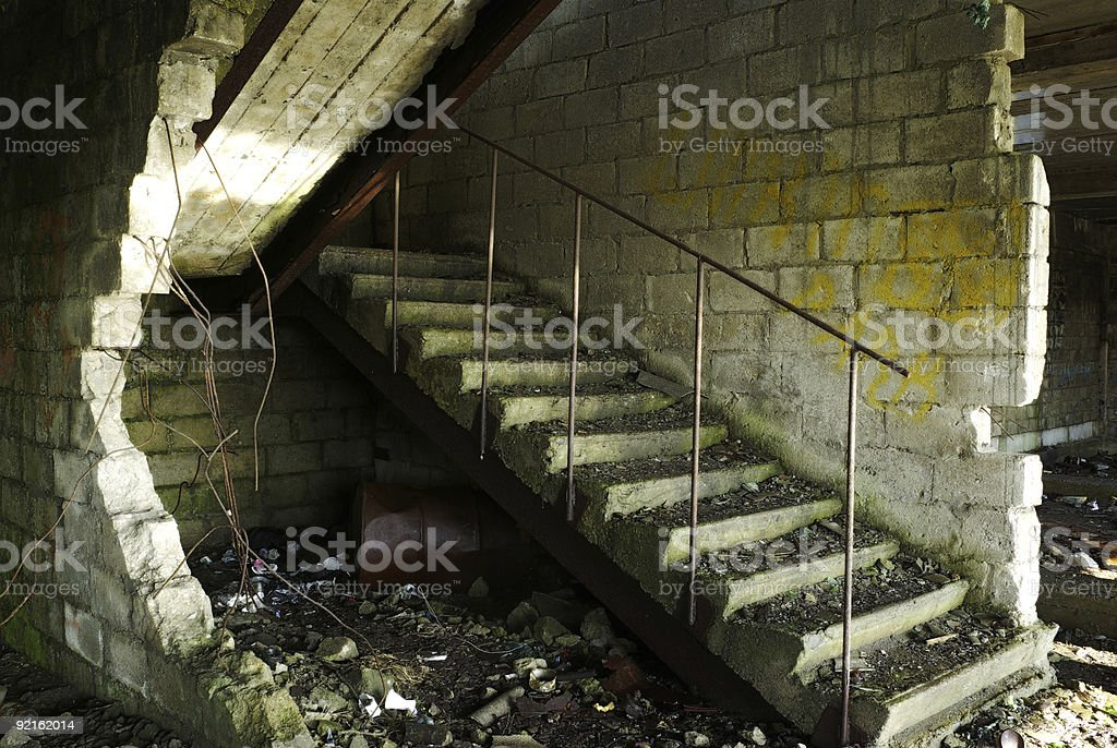 Lod ladder stock photo
