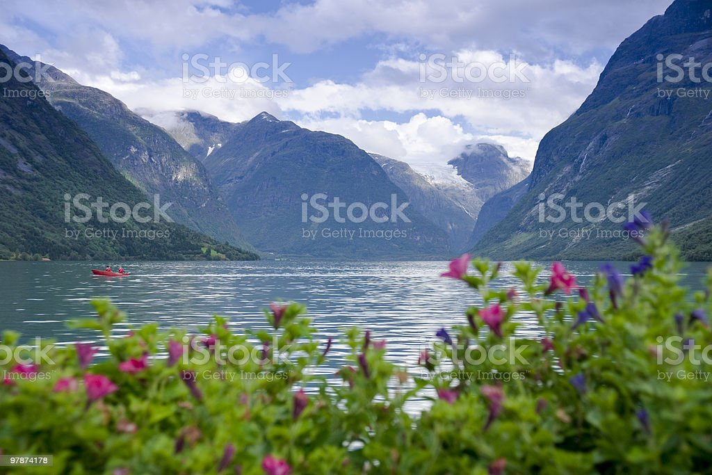 Lodalen Valley royalty-free stock photo