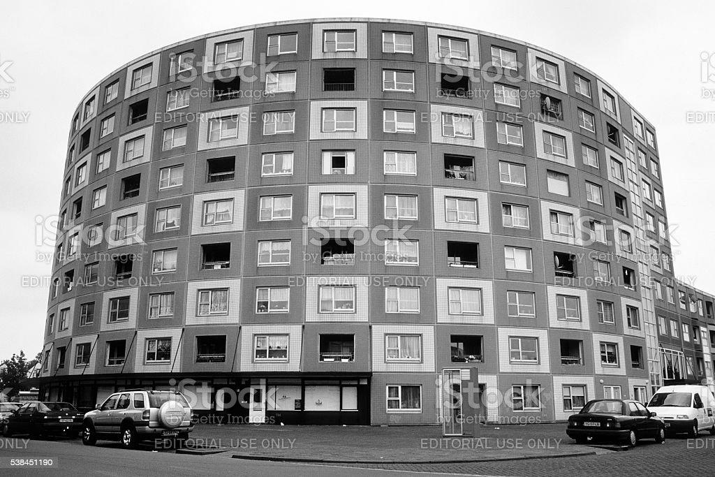 Lodewijk Pincoffsweg, Rotterdam - Kop van Zuid stock photo