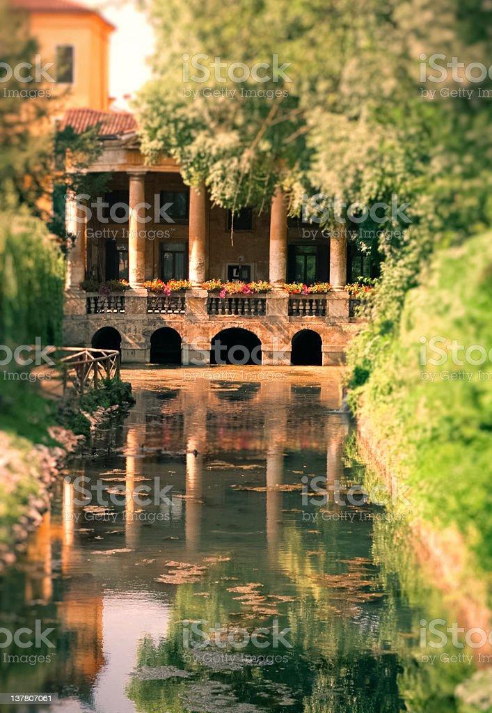 Lodge of Valmarana royalty-free stock photo
