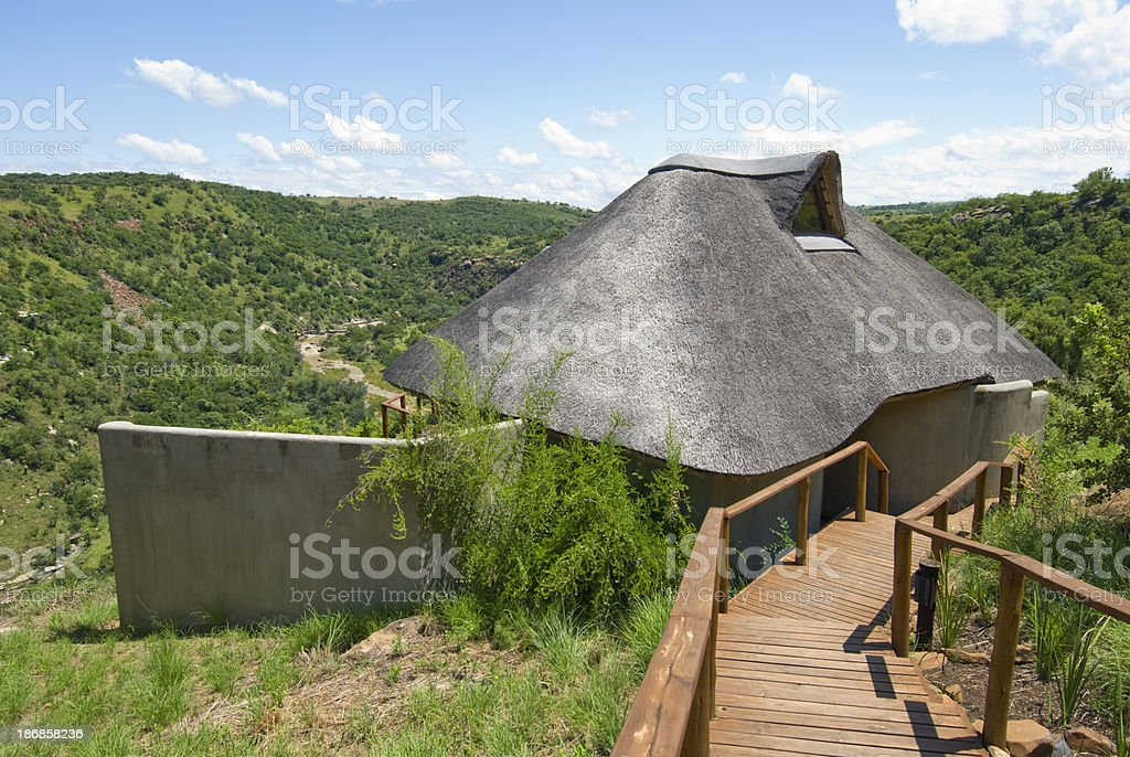 Lodge stock photo