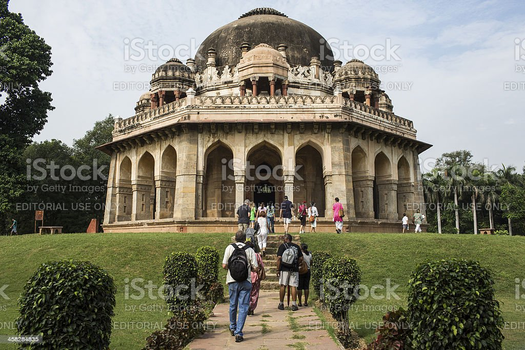 lodhi tomb in garden royalty-free stock photo
