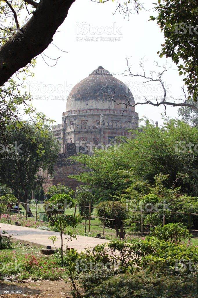Lodi Gardens, New Delhi stock photo