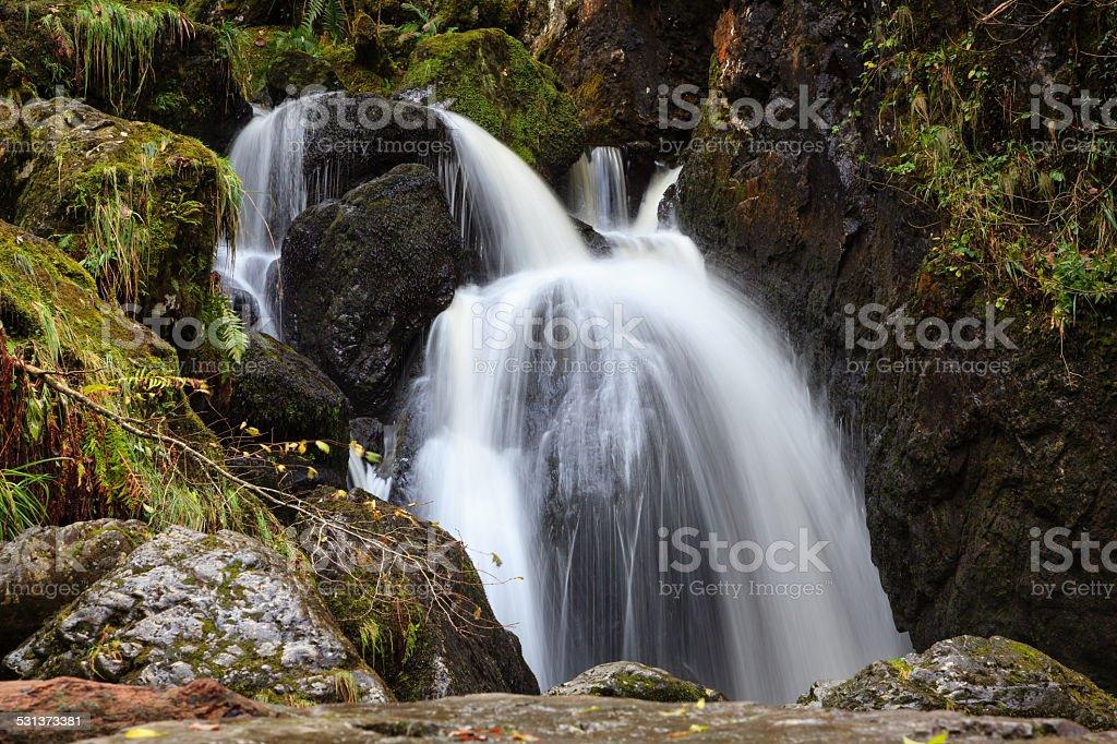 Lodore Falls stock photo