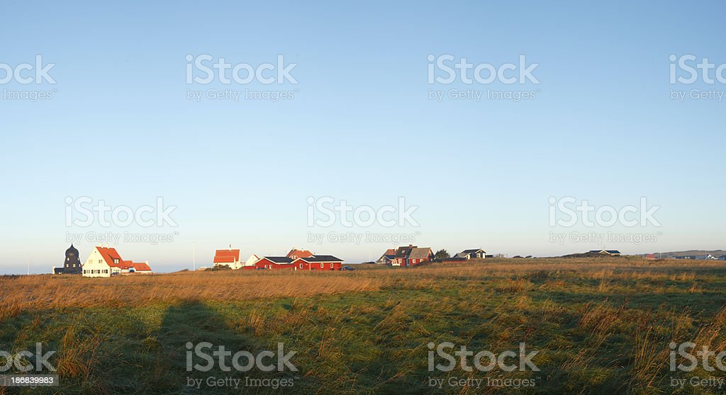 Loenstrup panorama royalty-free stock photo