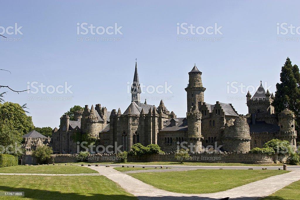 Loewenburg Castle stock photo
