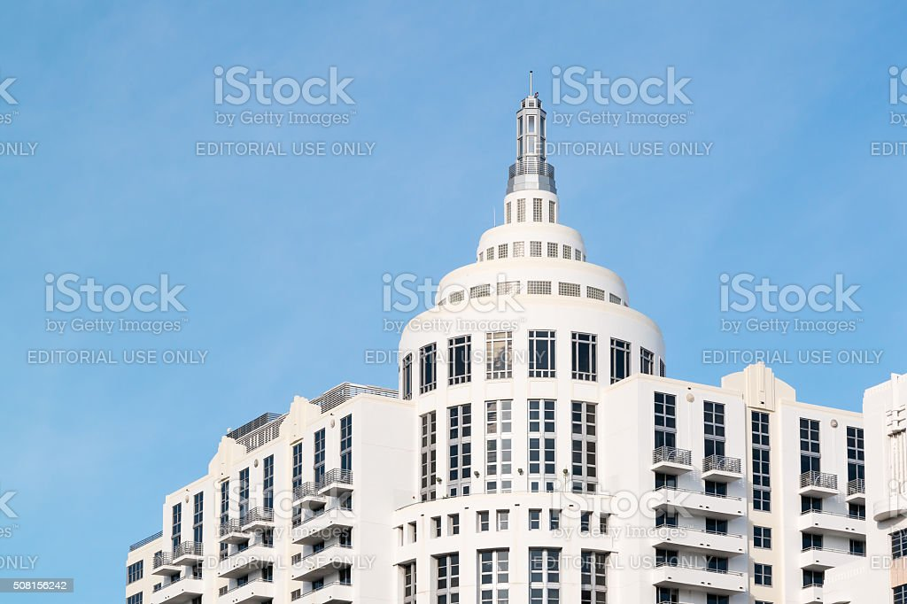 Loews Hotel in Miami Beach, Florida stock photo