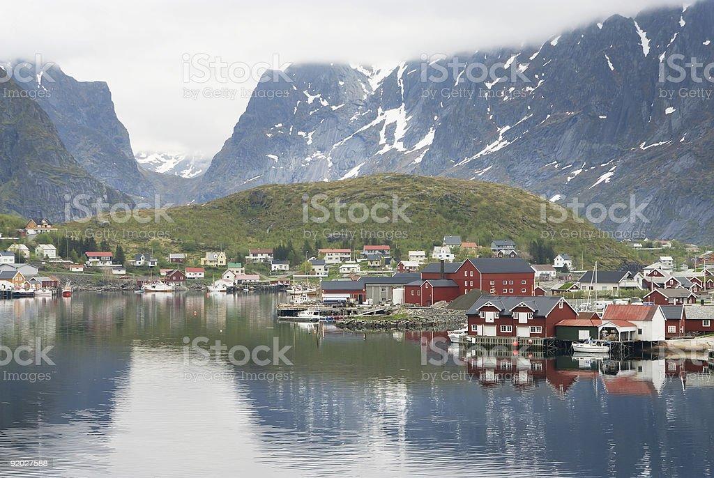 Lofoten in Norway royalty-free stock photo