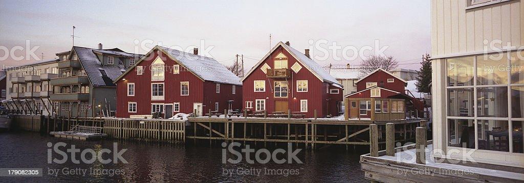 lofoten islands at winter_01 royalty-free stock photo