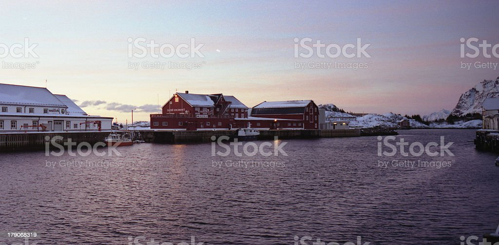 lofoten islands at winter_05 royalty-free stock photo