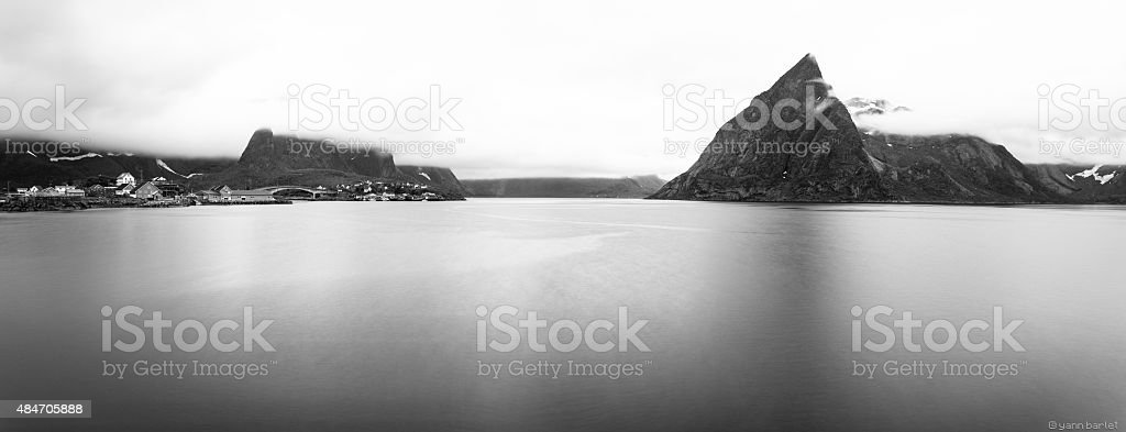 Lofoten Islands stock photo