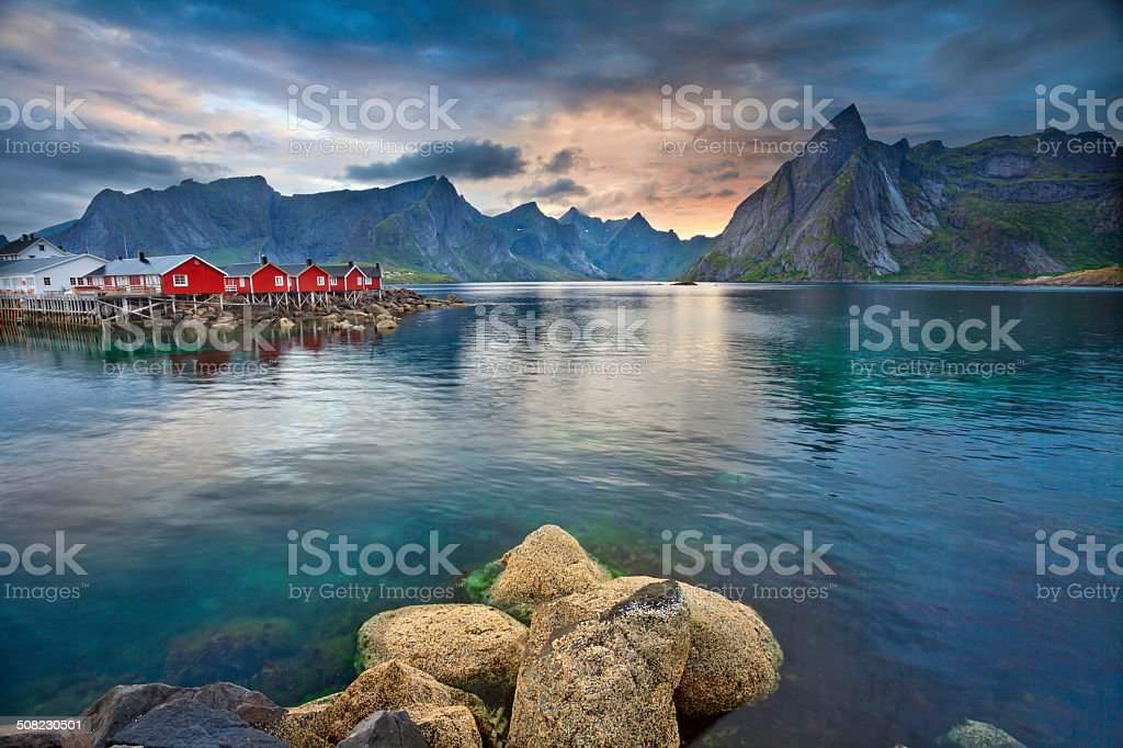 Lofoten Islands. stock photo
