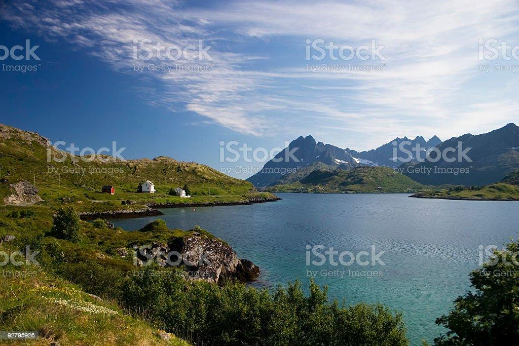 Lofoten Islands royalty-free stock photo