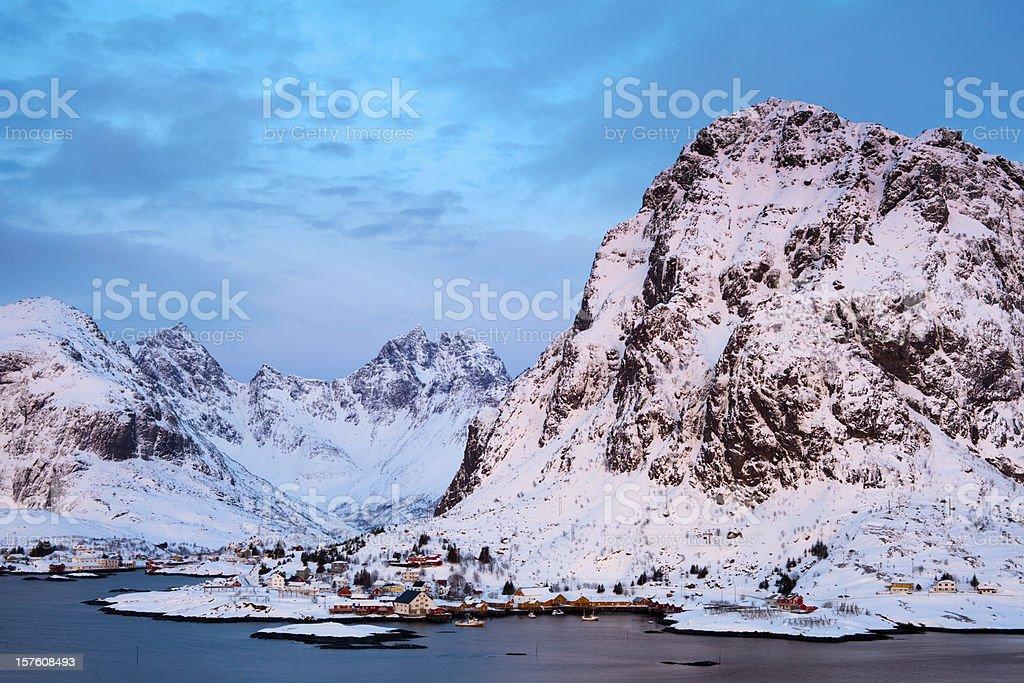 Lofoten, Norway royalty-free stock photo