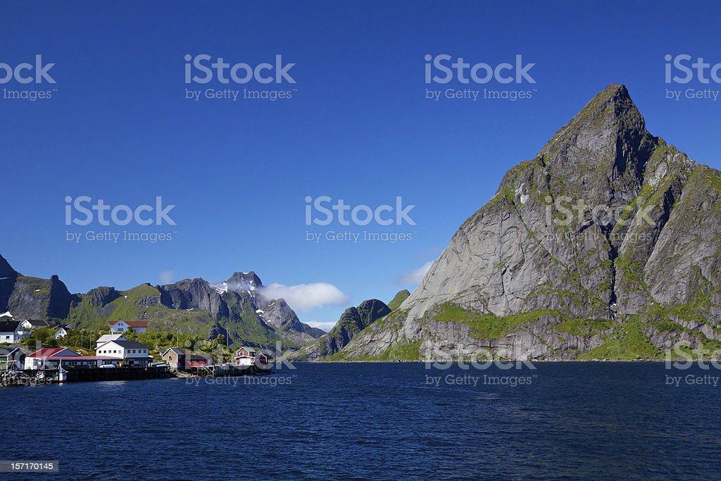 Lofoten panorama royalty-free stock photo