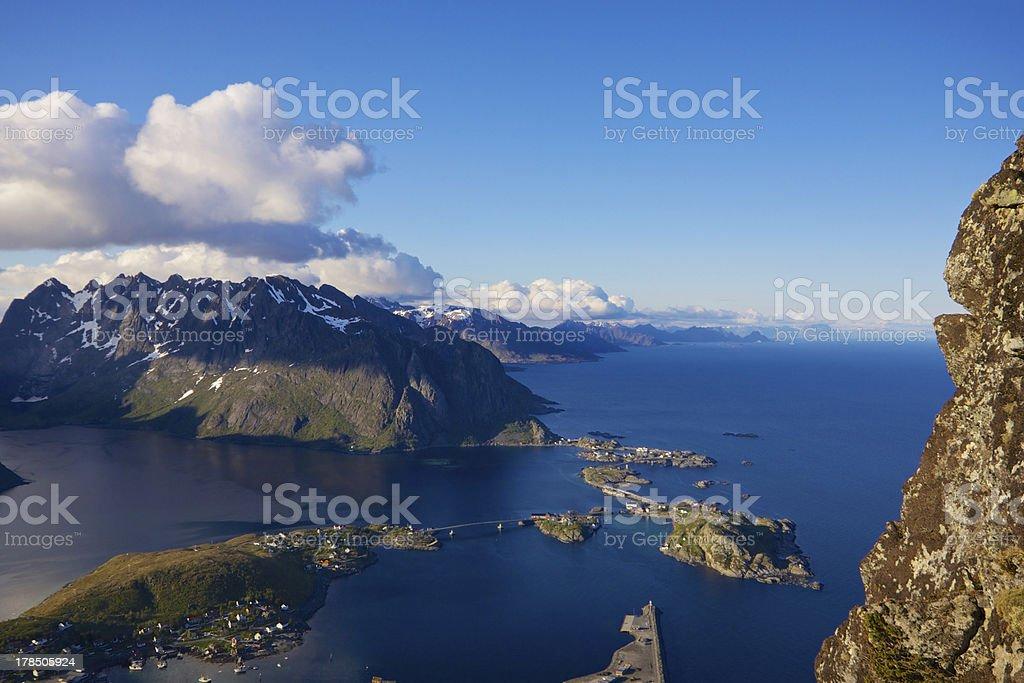 Lofoten royalty-free stock photo