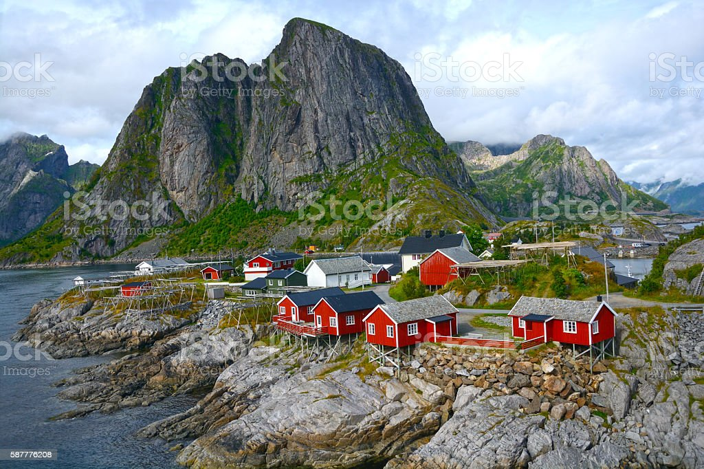 Lofoten stock photo