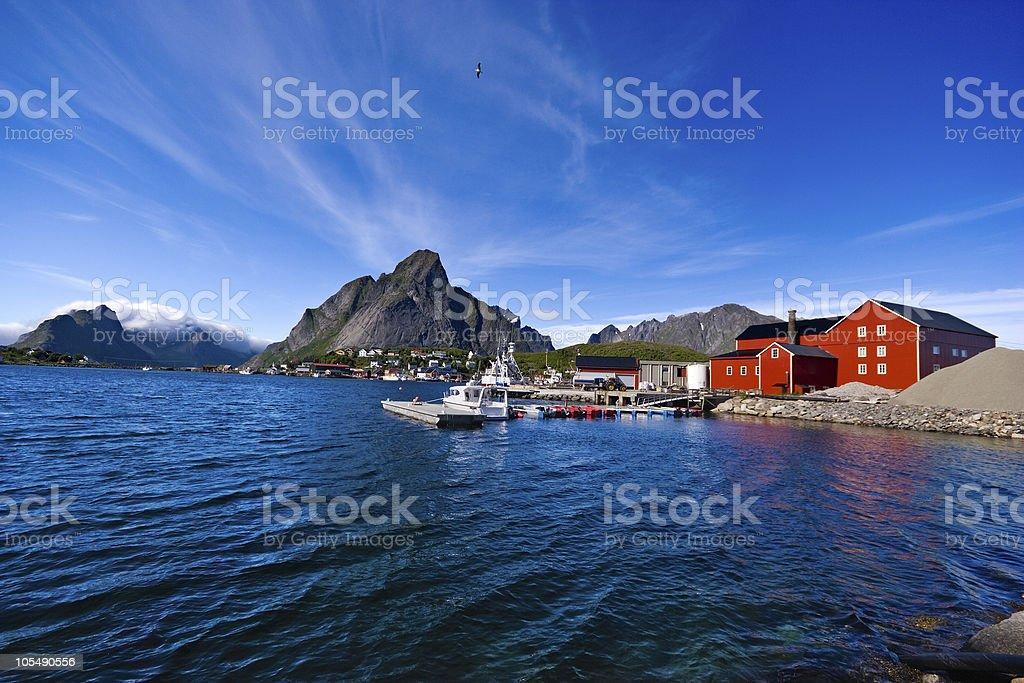 Lofoten (Norway), Reine royalty-free stock photo