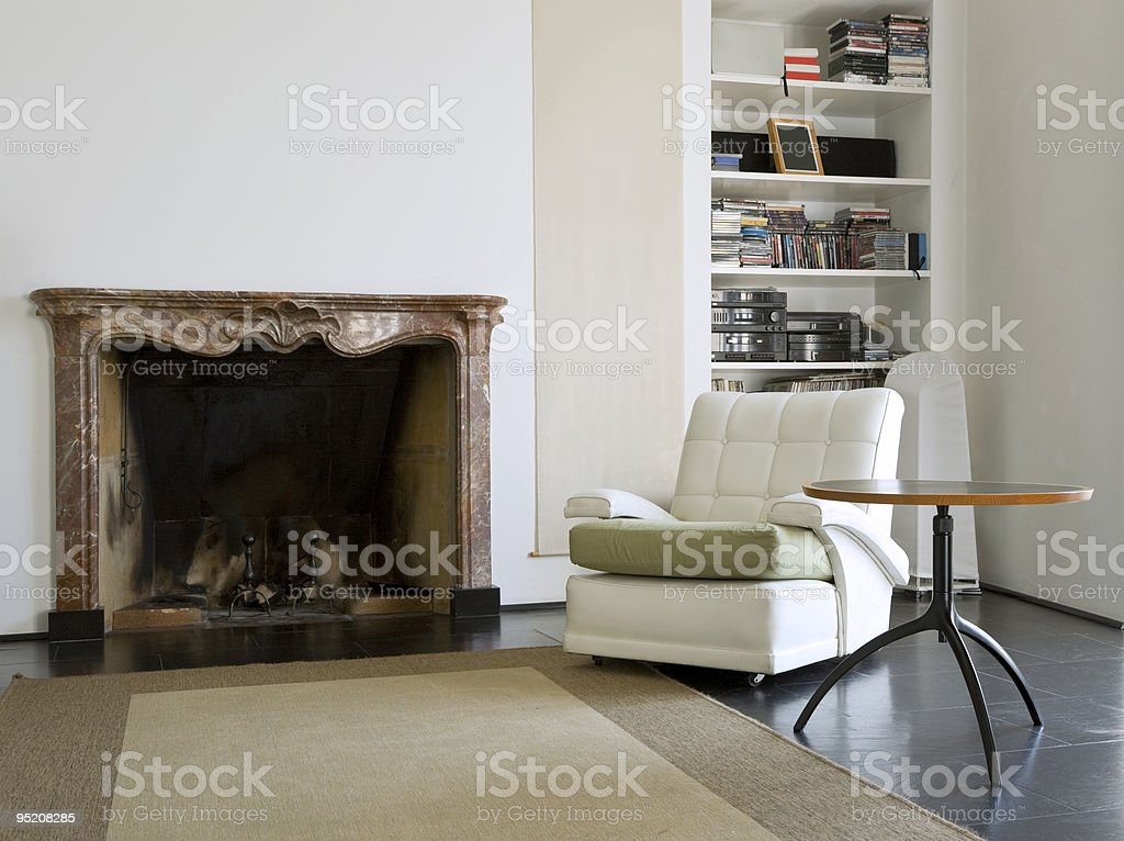 loft interior stock photo