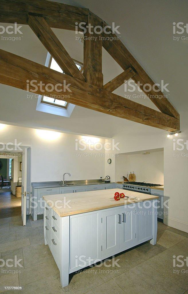 Loft Kitchen royalty-free stock photo