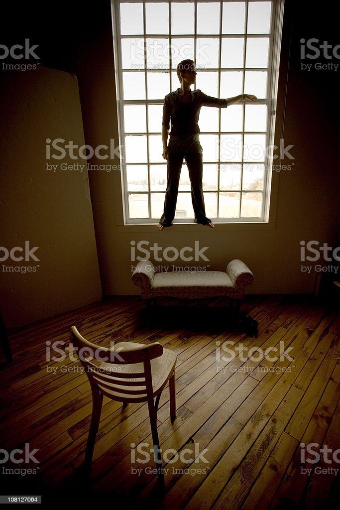 Loft Living royalty-free stock photo