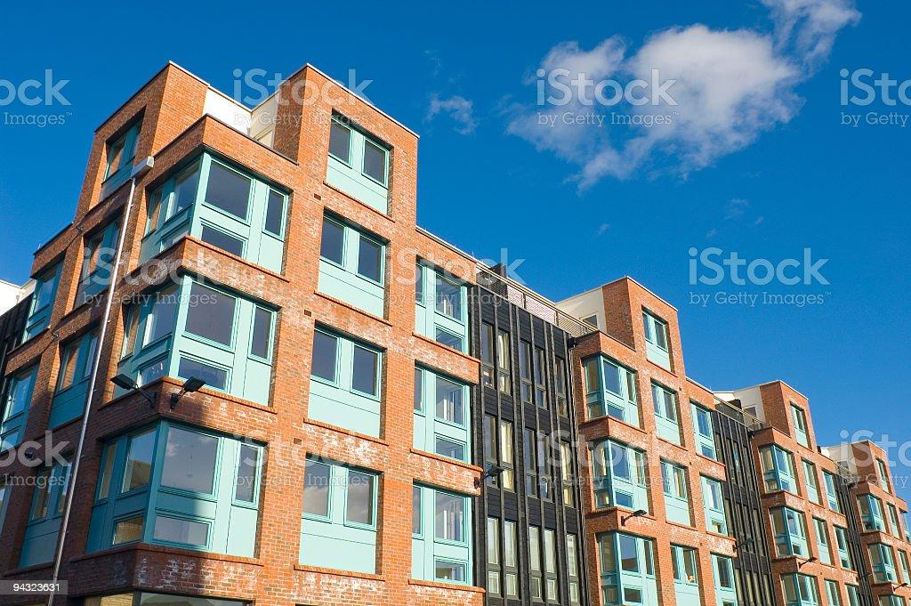 Loft style apartments stock photo