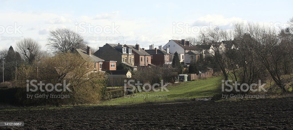 Lofthouse Near Wakefield stock photo