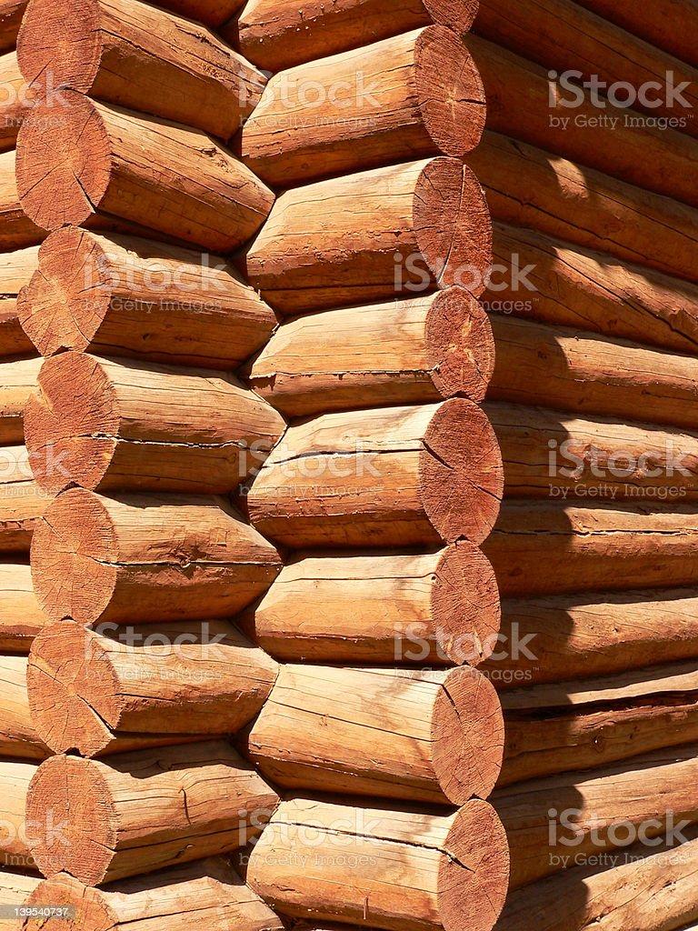 Log Building #2 royalty-free stock photo