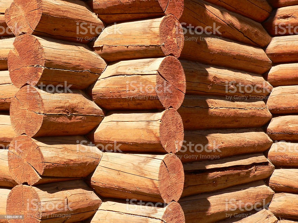 Log Building #1 royalty-free stock photo