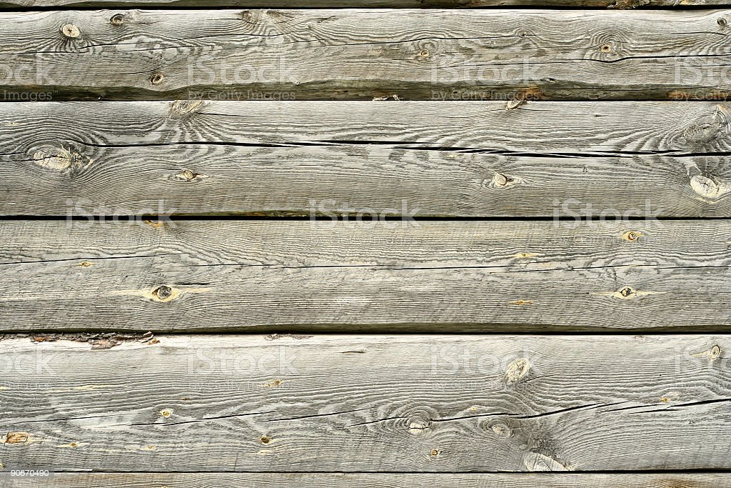 Log Cabin Detail-Planks royalty-free stock photo
