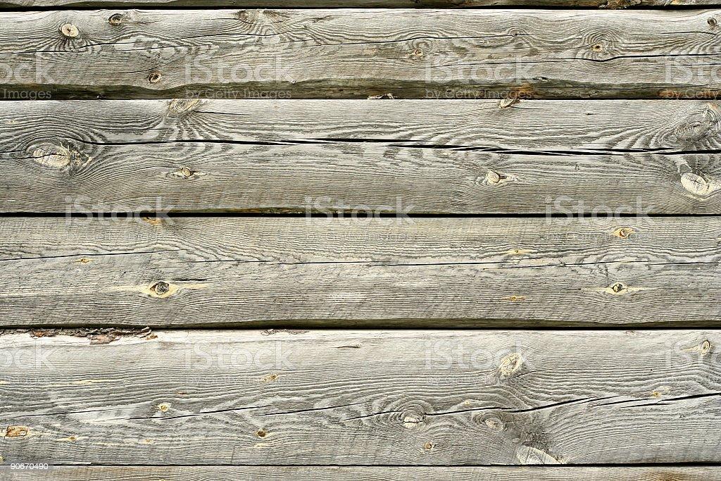 Log Cabin Detail-Planks royalty-free stock photo
