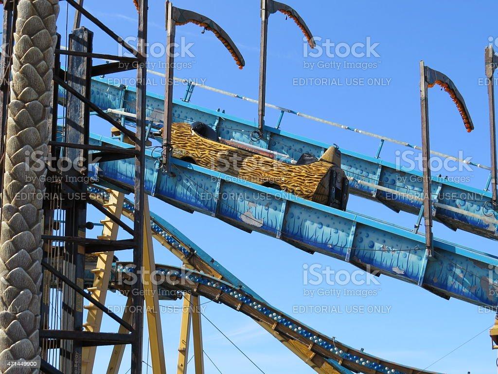 Log Flume stock photo
