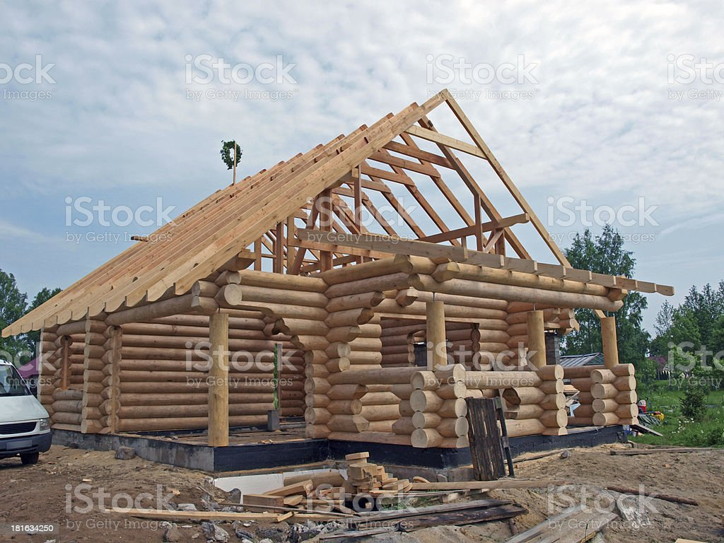 Log house royalty-free stock photo