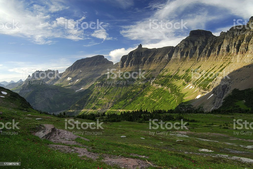 Logan Pass royalty-free stock photo