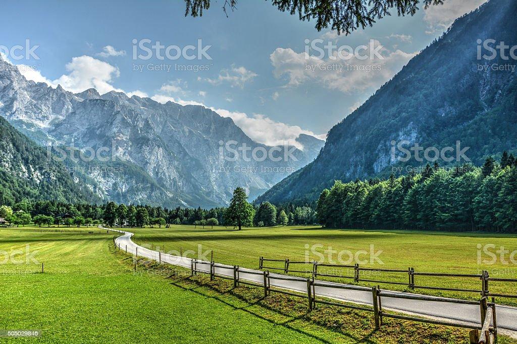 Logar valley stock photo