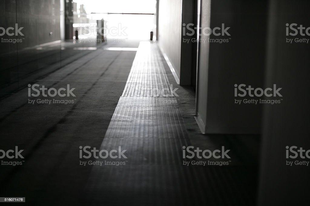 Loges Floor Path stock photo