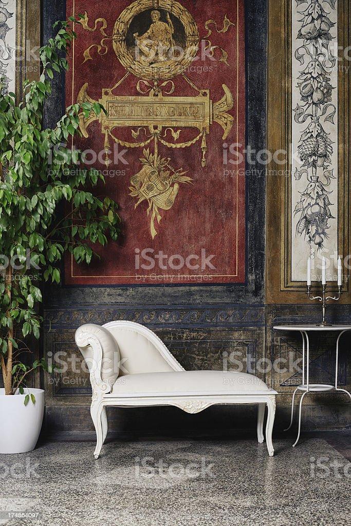 Loggia royalty-free stock photo