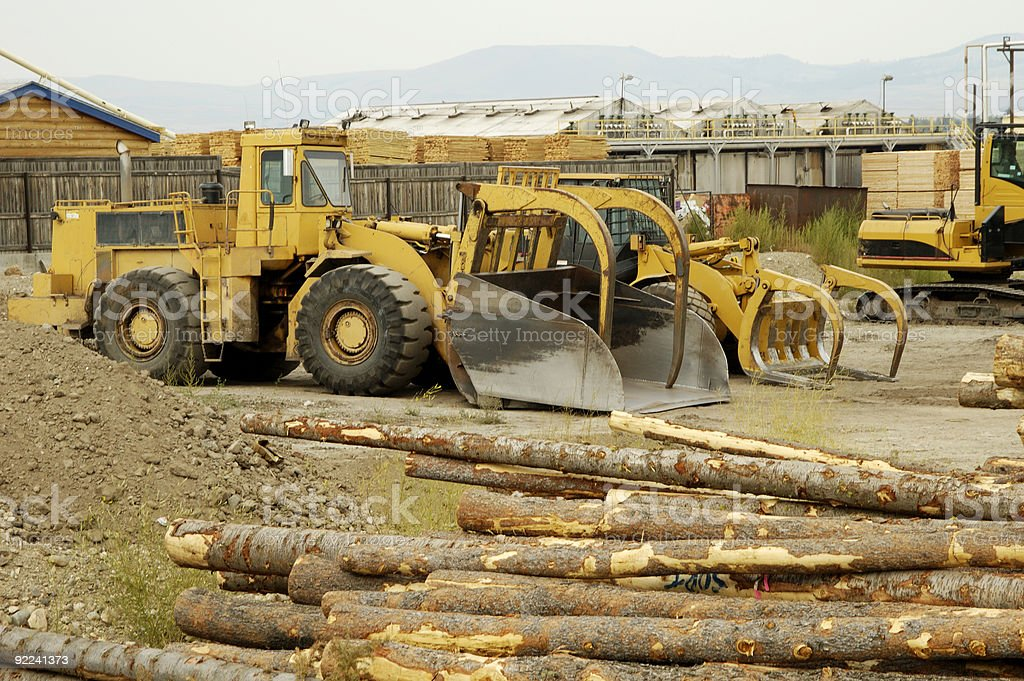 Logging Equipment 3 royalty-free stock photo