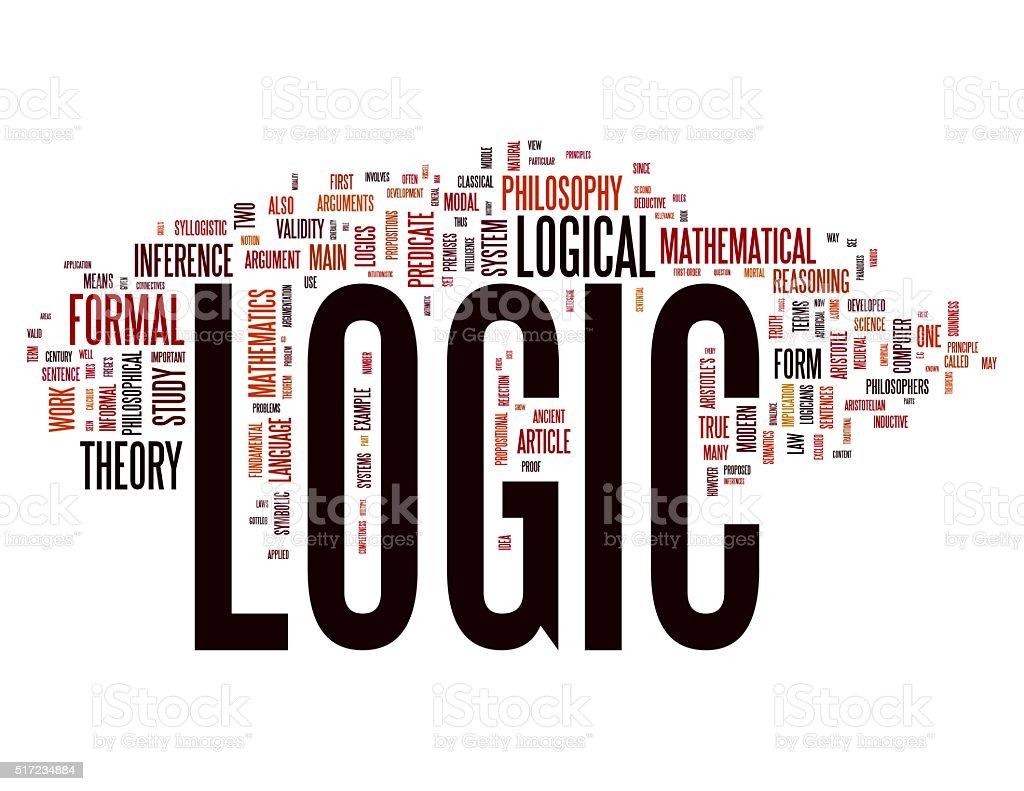 Logic concepts stock photo