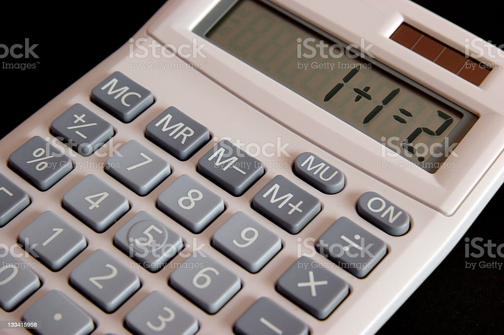 Logical Calculation stock photo