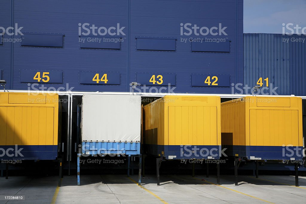 Logistic center royalty-free stock photo