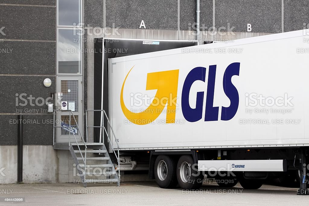 GLS logistic center stock photo