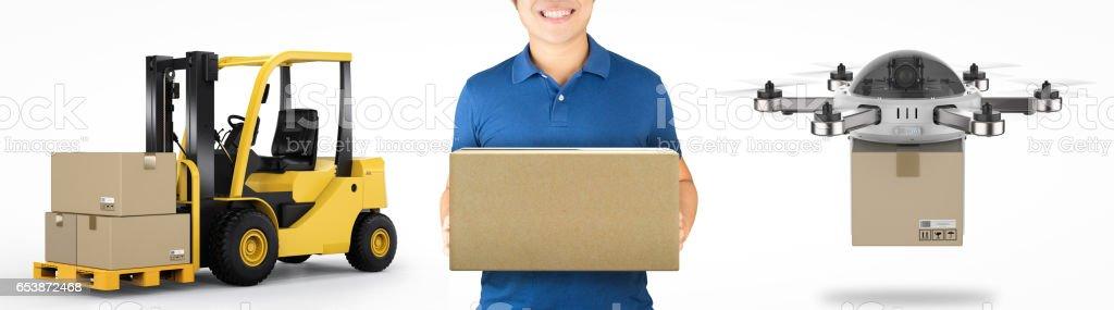 logistic concept stock photo