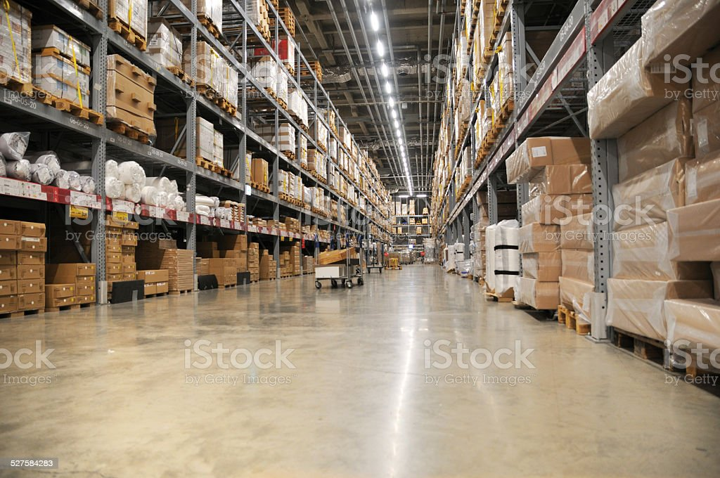 Logistics Center stock photo