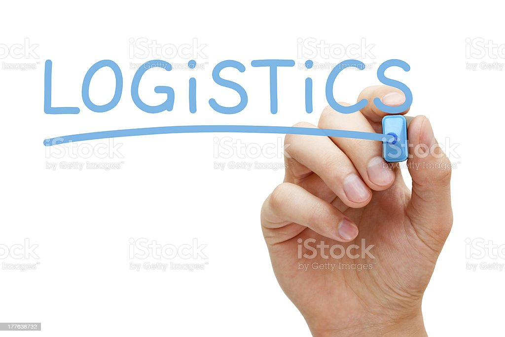 Logistics Concept royalty-free stock photo